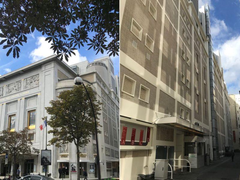 Travaux Avenue Montaigne